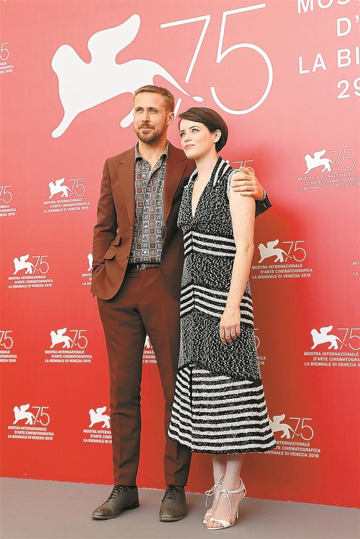 《登月第一人》揭幕威尼斯影戲節美艷香足
