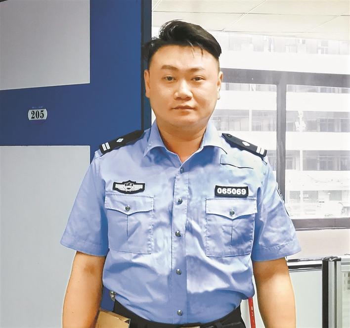 蔡沅宏:反复研判破要案