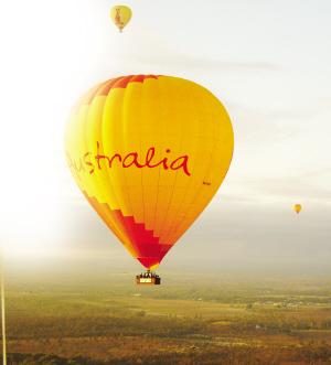 在昆士兰体验热气球之旅